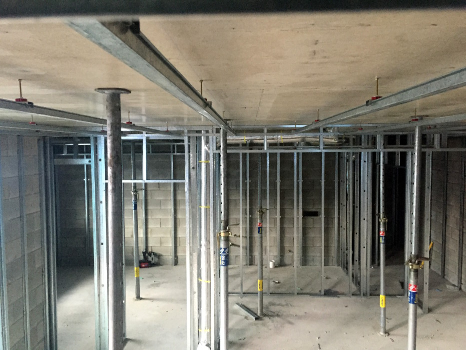Partition Walls and Suspended Ceiling Framing » Plastering Direct